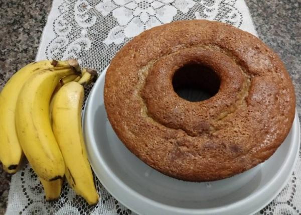Bolo de Banana Fácil