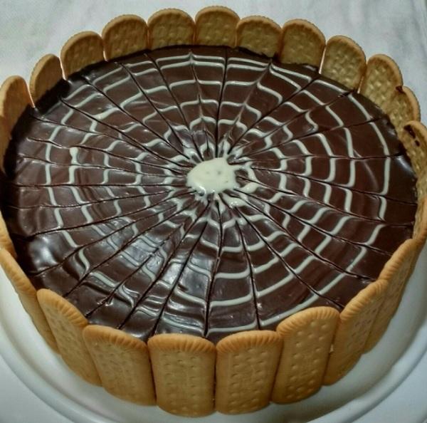 Torta Alemã Decorada