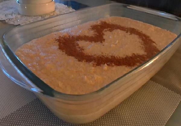 arroz doce moreno