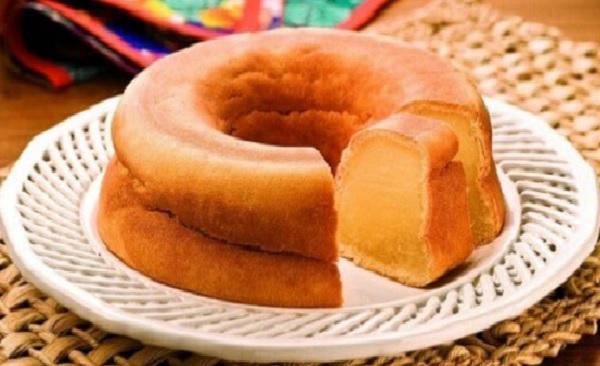 bolo de batata doce cremoso