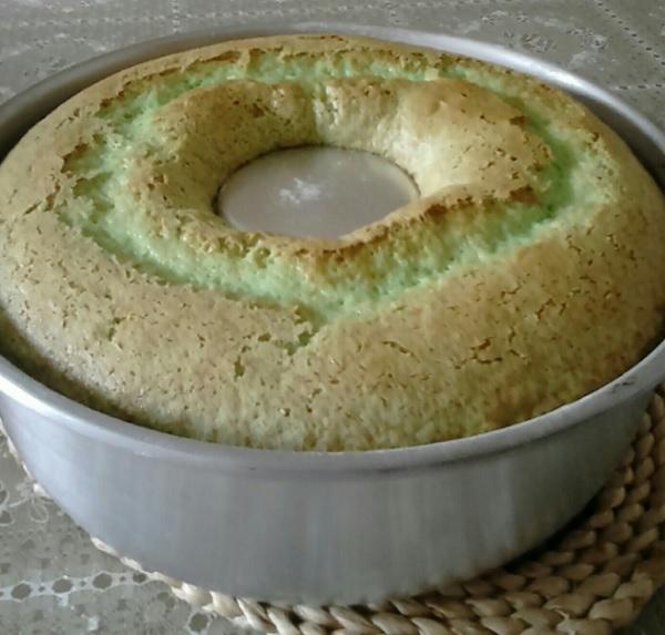 bolo de limão simples
