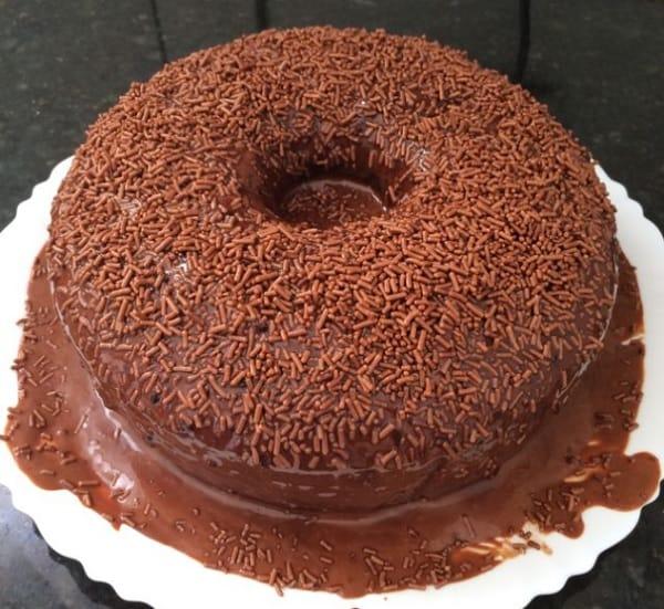 bolo de chocolate fofinho de liquidificador