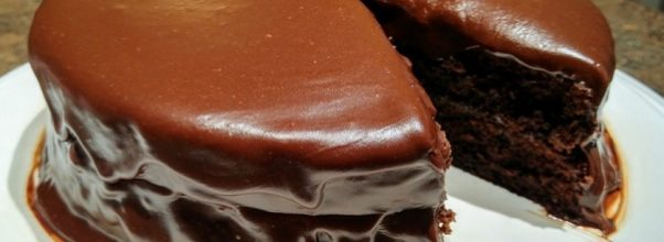 bolo de chocolate nega maluca