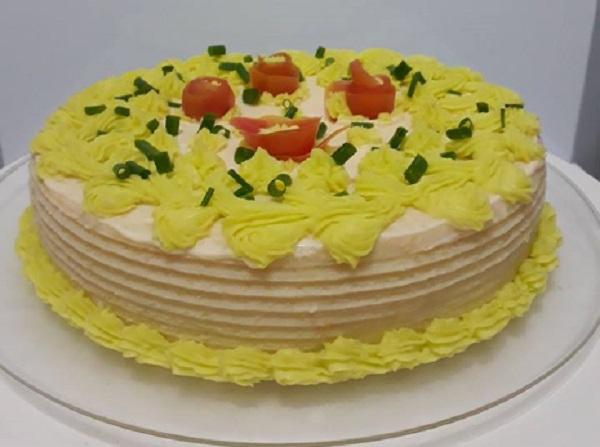 massa de maionese para bolo salgado