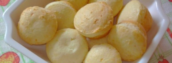 pão de queijo fit com 3 ingredientes