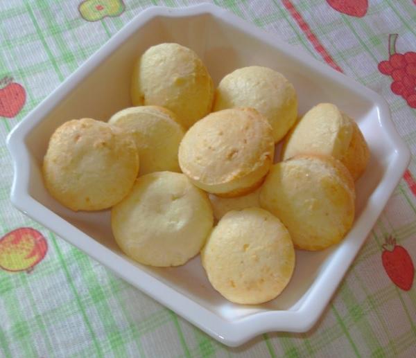 pão de queijo fit com 3 ingredientes