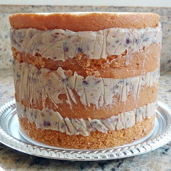 bolo com recheio de nozes para bolo de casamento