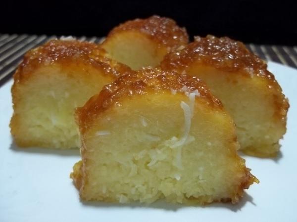 bolo de mandioca cremoso