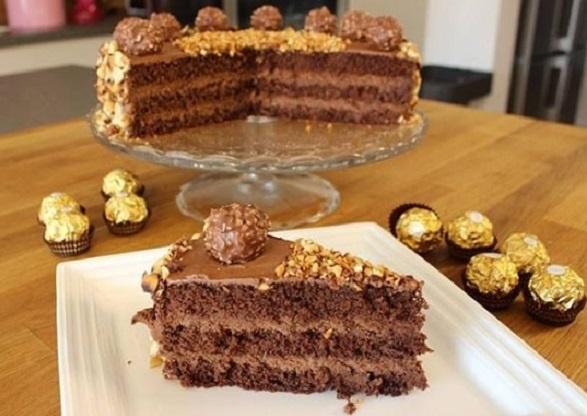 bolo de nutella para aniversário