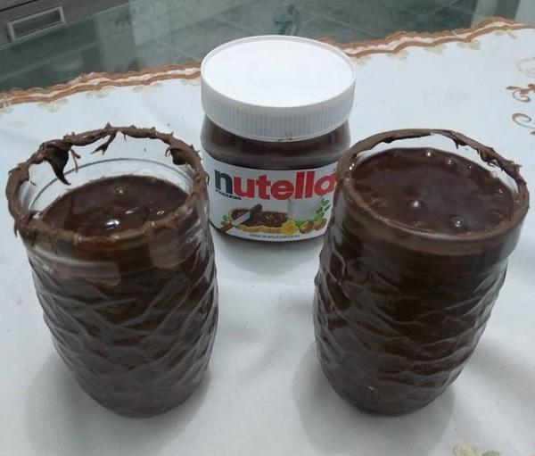 Chocolate Quente Caseiro Com Nutella
