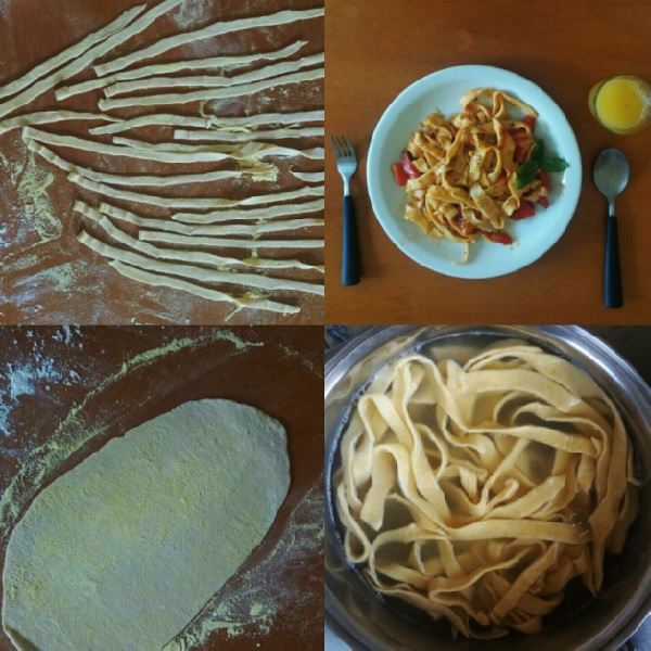 preparo da massa fresca italiana