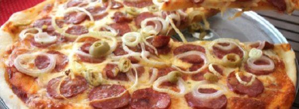 massa para pizza de microondas