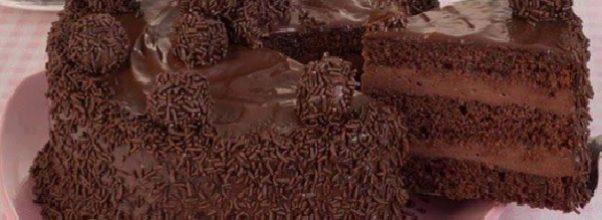 recheio de chocolate para bolo de aniversário