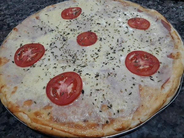 massa de pizza rápida