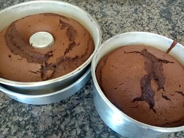 bolo de chocolate com leite condensado