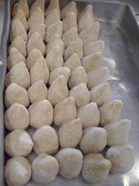 massa de salgado com batata