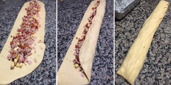 receita de enroladinho de presunto e queijo