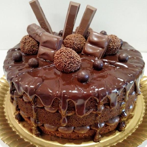 recheio de chocolate belga