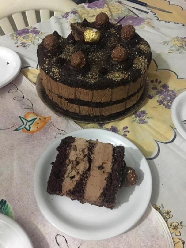 Recheio Ferrero Rocher Caseiro