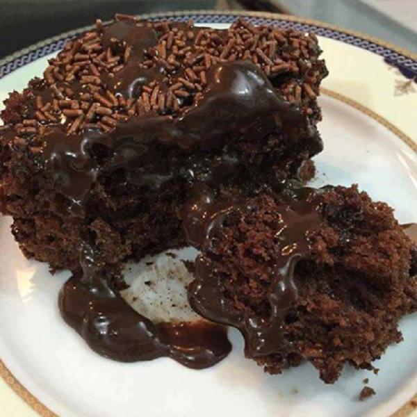 bolo de coca cola com chocolate