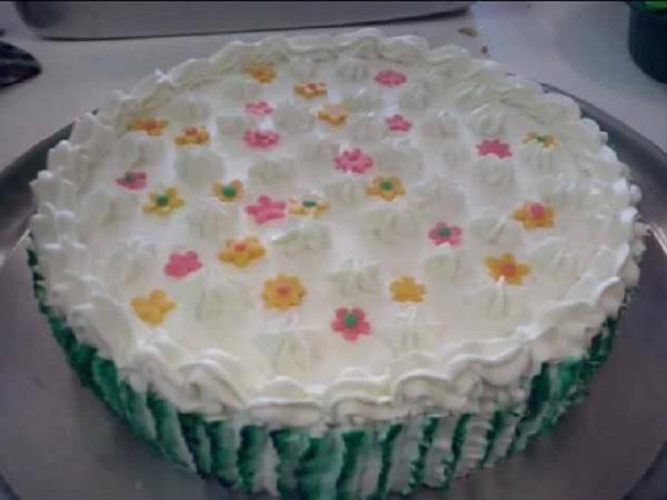 bolo de limão de aniversário