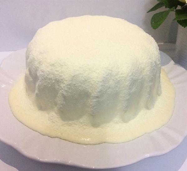 cobertura de leite ninho para bolo vulcão