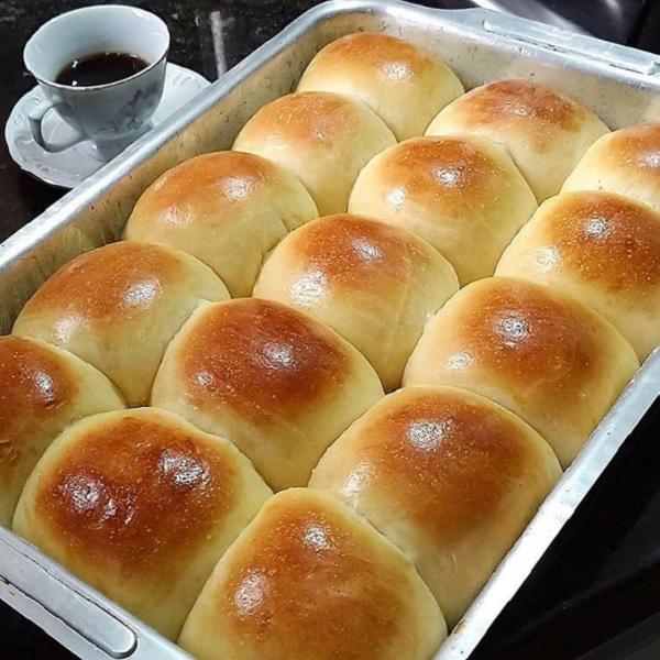 pão de leite caseiro fofinho