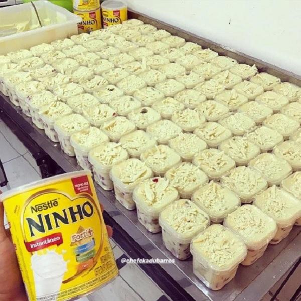 recheio de leite ninho para bolo de pote