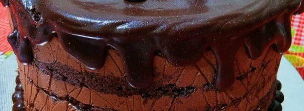 recheio de mousse de chocolate trufado