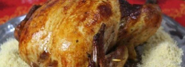 frango assado recheado