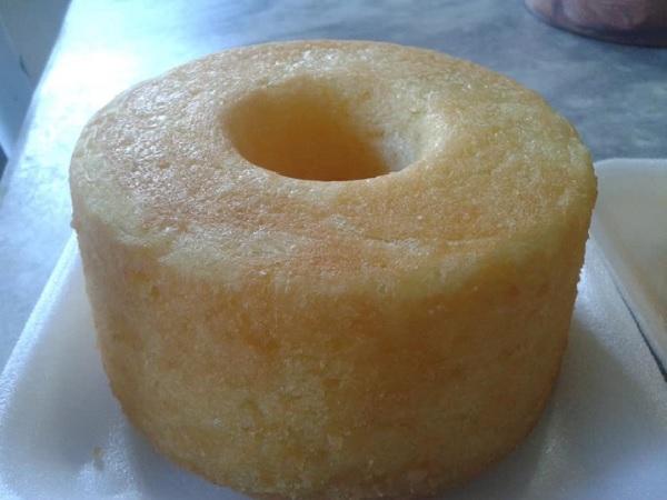 bolo de macaxeira com coco