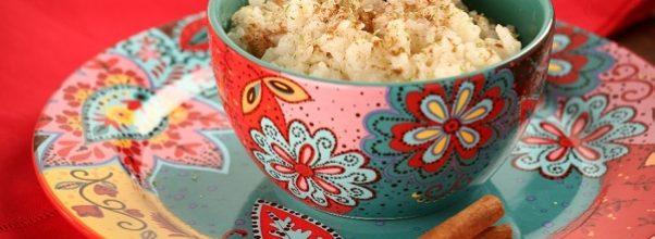 arroz doce sem leite condensado