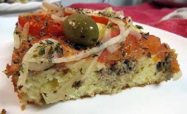 torta de sardinha em lata