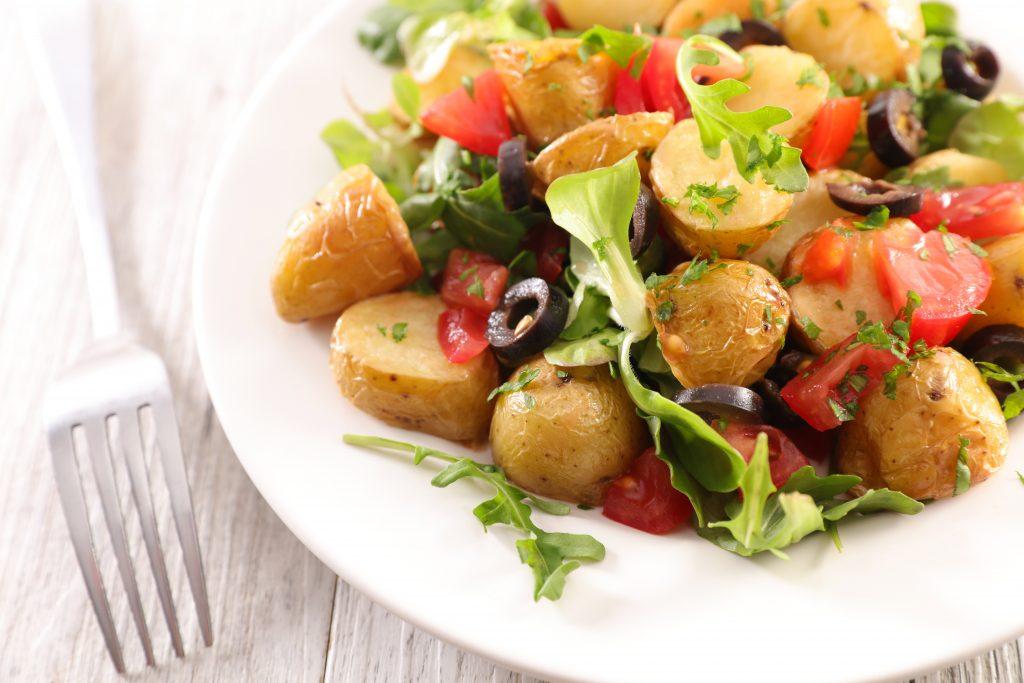 Salada De Batatinha Com Casca